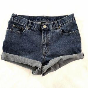 NY Jeans // Cut Off Mid-Rise Denim Jean Shorts